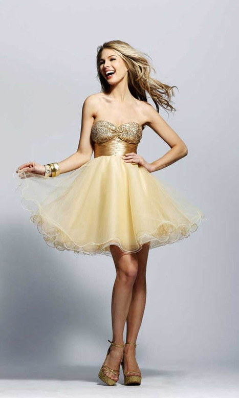 Sweetheart Organza Ball Gown Short/Mini Party Dress | Fashion | Scoop.it