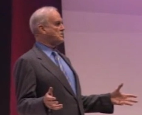 John Cleese's Philosophy of Creativity: Creating Oases for Childlike ... | Creativity, Innovation, Problem solving | Scoop.it
