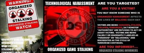 OSI Organized Stalking Informers | Stalking | Scoop.it