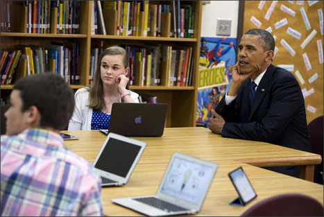 Obama Pushes Faster Internet, More Tech Funding for Schools - Education Week News | mobile learning BYOD | Scoop.it