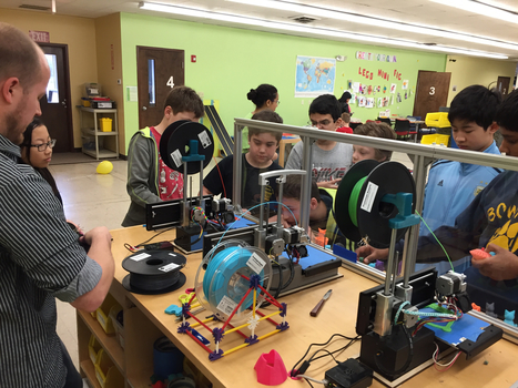 Kids code their own 3D creations with new blocks-based design program - The Hechinger Report | digital divide information | Scoop.it