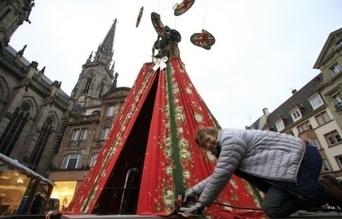 Marie-Jo Gebel habille le marché de Noël - L'Alsace.fr   Vive Noël !   Scoop.it