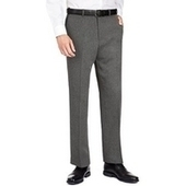 Active Waistband Crease Resistant Flat Front Trousers - Just Be Fancy | Online Clothes for Men | Scoop.it