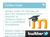 How to pull a Twitter Feed into Moodle | Elearning & Moodle | Scoop.it