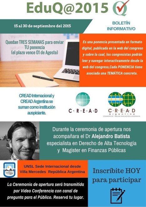 Boletín Novedades | E-learning | Scoop.it