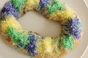 Rust & Sunshine: King Cake | Only Good News | Scoop.it