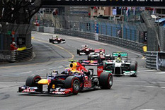 F1: Webber holds off trio for Monaco GP win | Motores | Scoop.it