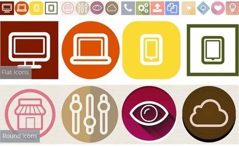 Los mejores sitios web para buscar y descargar iconos gratis | ED|IT| | Scoop.it