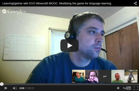 Learning2gether with EVO Minecraft MOOC: Modifying the game for language learning | | Mooc et apprentissage des langues | Scoop.it