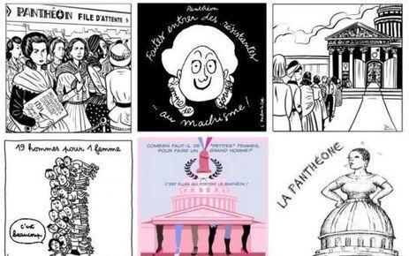 Les dessinatrices contre le sexisme | SEXISME et ORIENTATION | Scoop.it