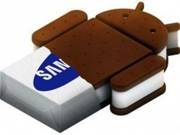 Dispositivos Samsung que actualizarán a Ice Cream Sandwich | VIM | Scoop.it