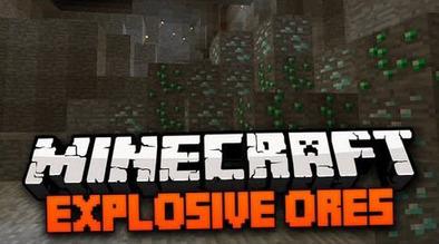 [1.7.2/1.6.4/1.6.2/1.5.2] Explosive Ores Mod | Mod downloads | Scoop.it
