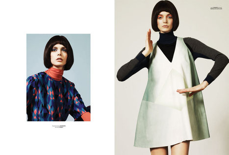 Charon Cooijmans Models Retro Style for Used Magazine | Vintage and Retro Style | Scoop.it