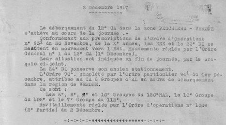 Première guerre mondiale : les Français sur le front du Piave « Mes racines en Vénétie   Rhit Genealogie   Scoop.it