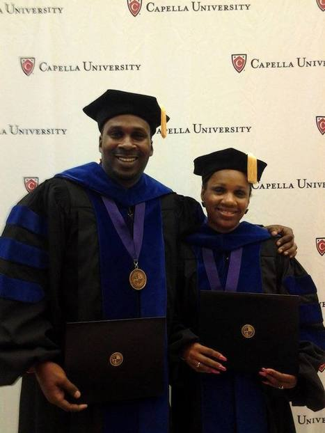 Mother, son defy odds and graduate together with PhD's - WRDW | PhD | Scoop.it