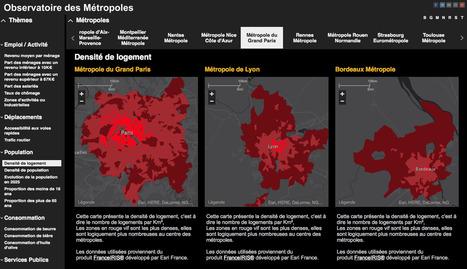 Observatoire des métropoles | Journalisme graphique | Scoop.it
