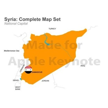 Syria Map For Sale $32 USD | MAPS  Ideas, Examples, Resources | Scoop.it