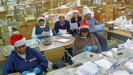 Postal Workers Play Santa as Children's Letters Pile Up | Dear Santa | Scoop.it