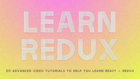 Learn Redux — a free video series   JavaScript for Line of Business Applications   Scoop.it