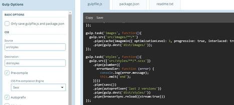 Quench.js: An Online Gulp Code Generator | Bazaar | Scoop.it