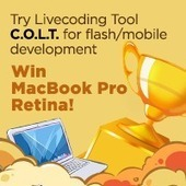 Less than two weeks left to enter COLT contest | Everything about Flash | Scoop.it
