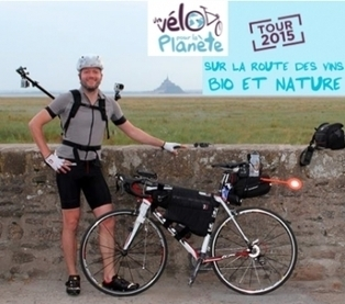 Il parcourt la France à vélo à la rencontre des vignerons bio | Cicloturismo - Cyclotourisme - Cycle tourism | Scoop.it