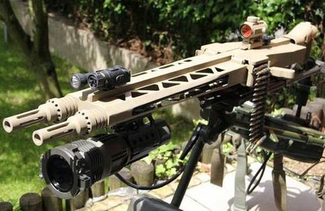 BAD ASS REAL-STEEL! - Twin Barrel MG14Z - The Firearm Blog | Thumpy's 3D House of Airsoft™ @ Scoop.it | Scoop.it
