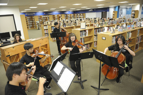 Library READesign: Clark High School renovates library using $65000 grant - Las Vegas Review-Journal | Library and Librarian News and Resources | Scoop.it