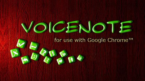 Gesproken tekst omzetten in geschreven tekst met VoiceNote. | Nieuwsbrief H. van Schie | Scoop.it
