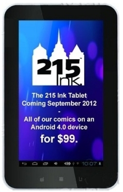 215 Ink To Sell Digital Comics. With A Tablet Thrown In. | Bleeding Cool | Comic Books | Scoop.it