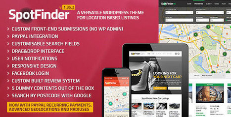 SpotFinder - Versatile Directory and Listings Theme | Blogging Tips and Tricks | Scoop.it
