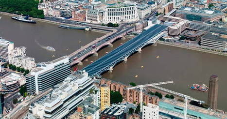 Blackfriars. El mayor puente solar del mundo | Infraestructura Sostenible | Scoop.it