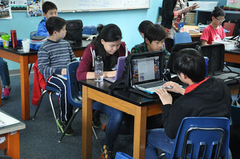 Nik's Learning Technology Blog: Managing the digital classroom - Using a backchannel | BYOD iPads | Scoop.it