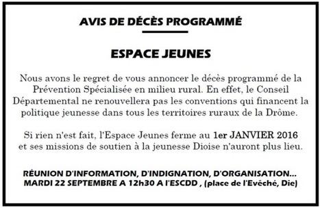 Die : le Conseil Départemental  suicide la prévention jeunesse… | Lecture citoyenne | Scoop.it
