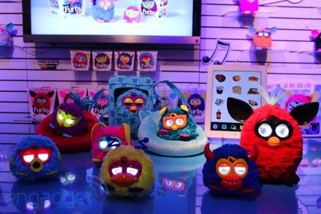 Hasbro\'s Toy Fair 2013 booth tour: Transformers, Furby rockers, Iron Man and more | All Geeks | Scoop.it