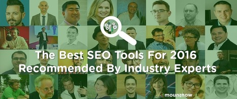 Best SEO Tools For 2016 Recommended By Industry Experts  | Business Tips | Scoop.it