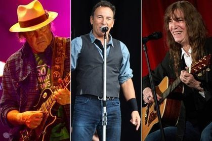 Neil Young et Patti Smith jouent pour Bruce Springsteen - le Figaro | Bruce Springsteen | Scoop.it