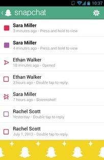 Snapchat | Download | TechTudo | Linguagem Virtual | Scoop.it