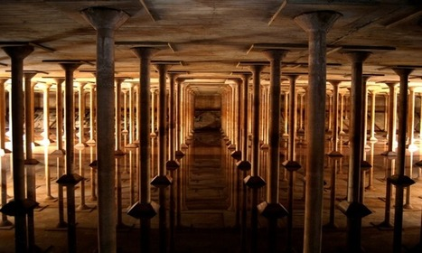 A Cathedral-Like Cistern Beneath Houston Is Now Open to the Public | Strange days indeed... | Scoop.it
