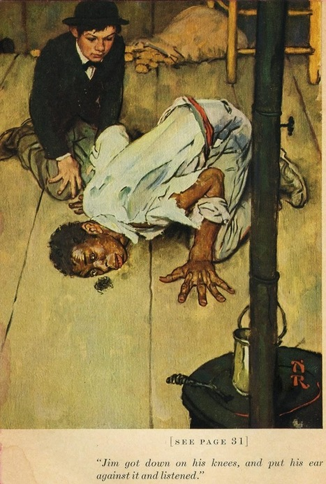 Norman Rockwell Illustrates Mark Twain's Tom Sawyer & Huckleberry Finn (1936-1940) | Books, Photo, Video and Film | Scoop.it