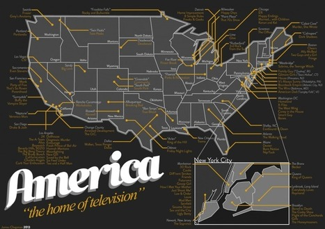 113 séries rassemblées sur une carte des États-Unis | Histoire geo Terminale (programmes 2012) | Scoop.it