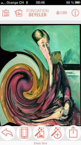 IL Y A 2 ANS ... L'application ArtShaker de la Fondation Beyeler stimule le sens artistique et la créativité | Ecriture mmim | Scoop.it