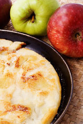Apple Puff Pancakes | Great American Cookbooks | Scoop.it