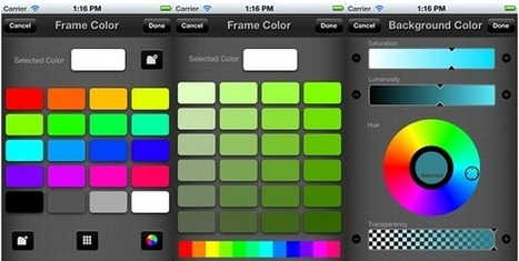 Open Source iPhone Color Picker Control Combining Grid, Rotary, And Slider Approaches   iOS Lovers   Scoop.it