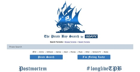 Fake #PirateBay Lies to Press and Fakes User Uploads - #p2p | Digital #MediaArt(s) Numérique(s) | Scoop.it