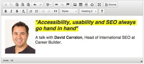 Accessibility, usability and SEO go hand in hand | Go Digital-Mobile | Scoop.it