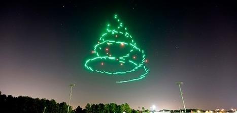 Disney a mis au point un show féérique orchestré par 300 drones pour Noël | Marketing et Promotions | Scoop.it