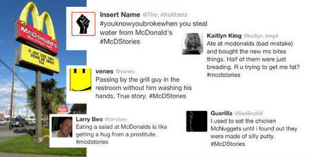 Social media and brand reaction: The McDonald's Twitter debacle | SM | Scoop.it