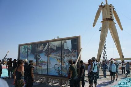 The British Library Meets Burning Man - Digital scholarship blog | Digital information and public libraries | Scoop.it