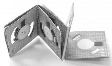 Cette pile origami fonctionne grâce aux bactéries contenues dans nos eaux usées - SciencePost | Merveilles - Marvels | Scoop.it